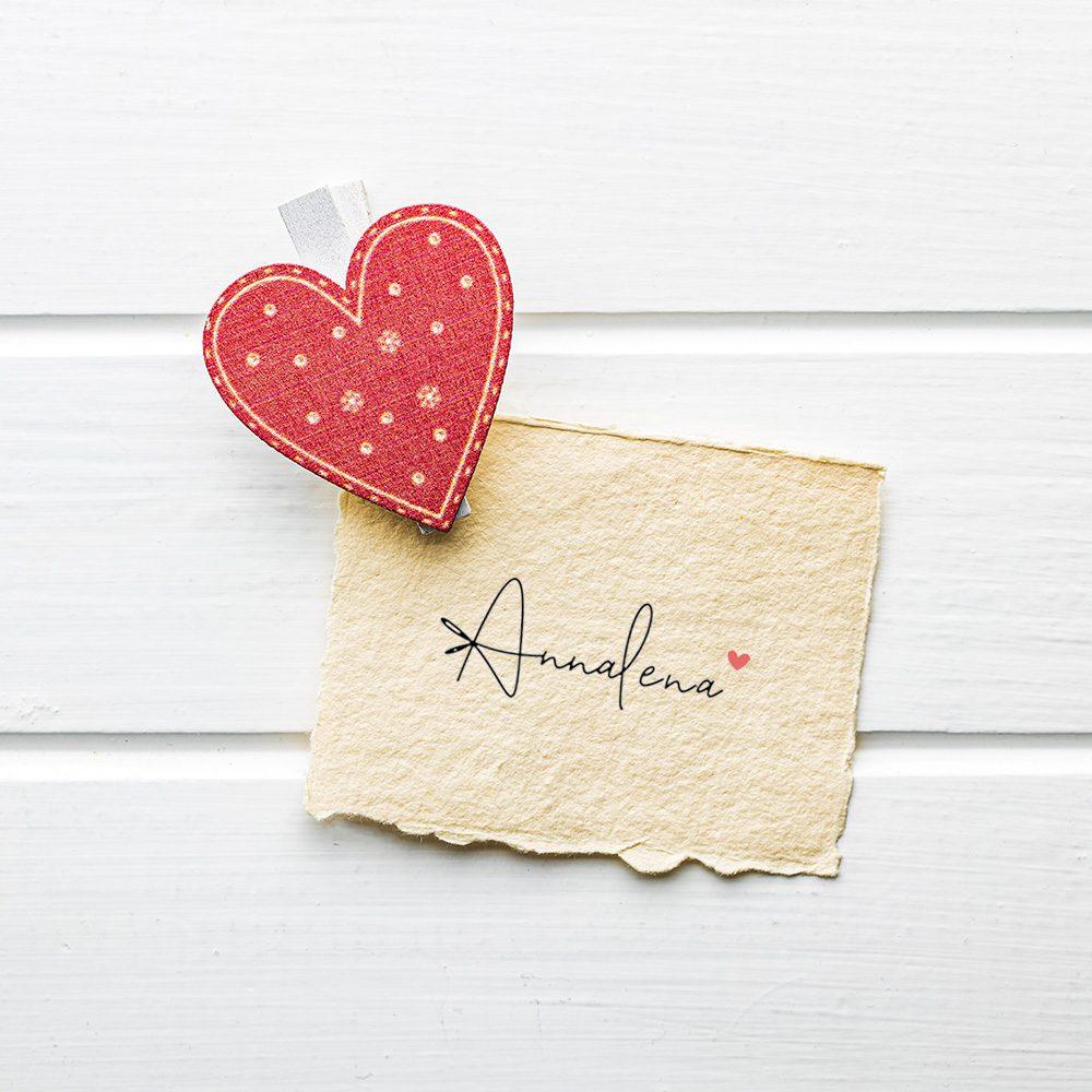 Annalena Geschenkkarte